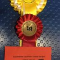 Flint wins first place at his second show